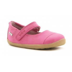 CHAUSSURE CANDY CREAM BALLET FUSCHIA Bobux
