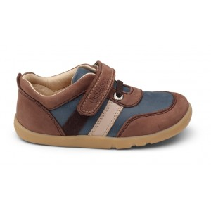 CHAUSSURES I-WALK UP&AWAY SPORTS LIGHT BROWN/BLUE Bobux