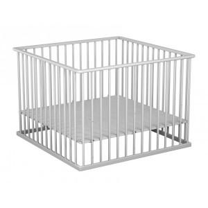 parc plancher reglable 100x100 cm blanc atelier t4 terre de b b s. Black Bedroom Furniture Sets. Home Design Ideas