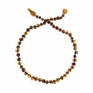 COLLIER D'AMBRE COGNAC Baltic way