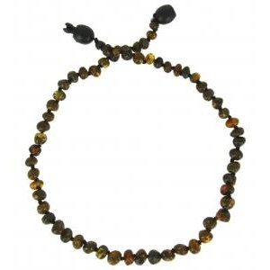 COLLIER D'AMBRE GRAY Baltic way