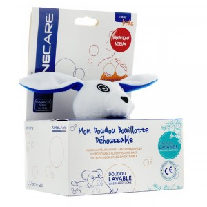 BOUILLOTTE SECHE DOUDOU LAPIN Kinecare by Visiomed