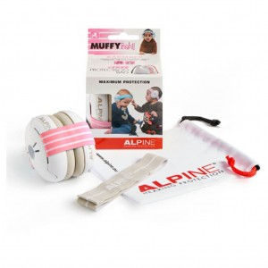 CASQUE ANTI-BRUIT MUFFY BABY ROSE Alpine hearing protection