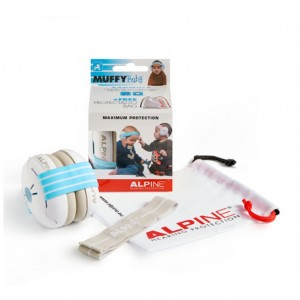 CASQUE ANTI-BRUIT MUFFY BABY BLUE Alpine hearing protection