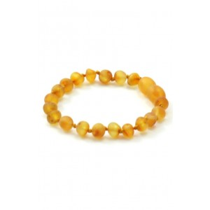 BRACELET D'AMBRE CITRUS NON POLI Baltic way