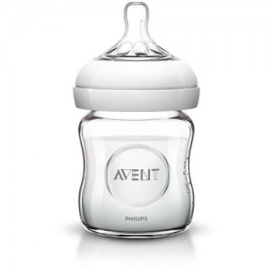 BIBERON NATURAL VERRE 120 ML Avent