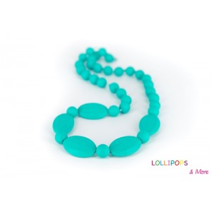 COLLIER D'ALLAITEMENT LICORICE NECKLACE TURQUOISE Lollipops