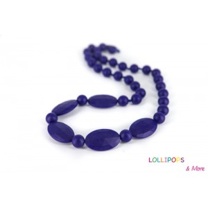 COLLIER D'ALLAITEMENT LICORICE NECKLACE NAVY Lollipops