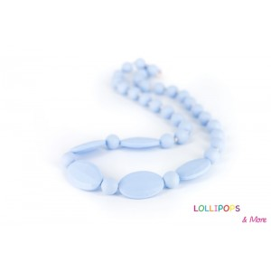 COLLIER D'ALLAITEMENT LICORICE NECKLACE PASTEL BLEU Lollipops