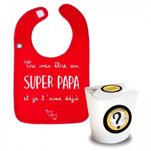 POCHETTE SURPRISE SUPER PAPA Bb and co