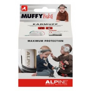 CASQUE ANTI BRUIT MUFFY BABY BLACK Alpine hearing protection