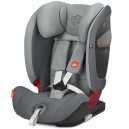 SIEGE AUTO GR 1/2/3 EVERNA -FIX LIGHT GREY Good baby