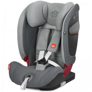 SIEGE AUTO GR 1/2/3 EVERNA -FIX LIGHT GREY Good baby
