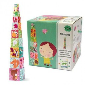 10 CUBES FORET Djeco